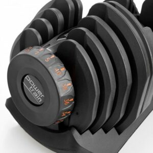 ADJUSTABLE DUMBBELL SET WITH STAND - 80KG 3