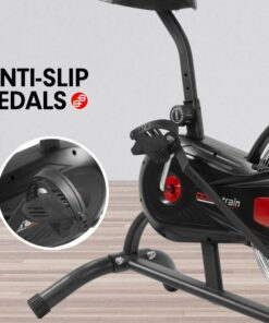 POWERTRAIN AIR RESISTANCE EXERCISE RED BIKE SPIN FAN EQUIPMENT CARDIO 5