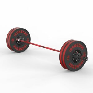 20kg Red Cerakote Olympic Barbell (Bearing) 2